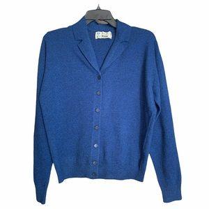 Pringle Lambswool Cardigan Sweater w/ Collar